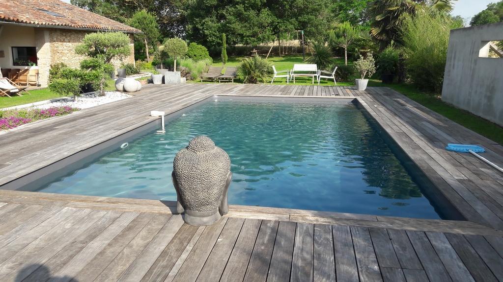 piscine liner gris foncé