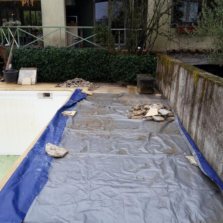 Préparation du chantier avant les travaux