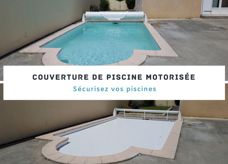 Couverture de piscine motorisée : sécurisez votre piscine