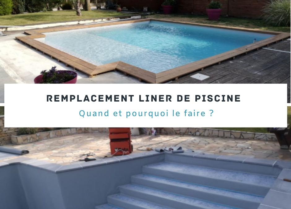 Remplacement liner de piscine : quand et pourquoi le faire ?