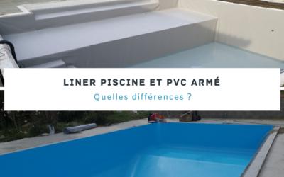 Liner piscine et PVC armé : quelles différences ?